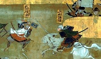 啄木鳥戦法、武田信玄と上杉謙信の一騎打ち。第4次川中島の戦い